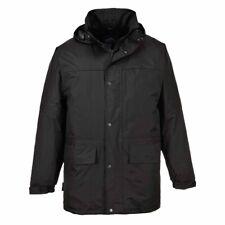 Portwest - Oban Fleece Lined Padded Waterproof Jacket With Pack Away Hood