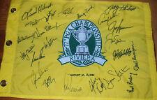 NICKLAUS Rosburg DALY Runyan+ Signed 95 PGA Champs Flag