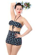 SugarShock VALERIA Tattoo Schwalben Swallow Pin Up 50er retro Bikini Rockabilly