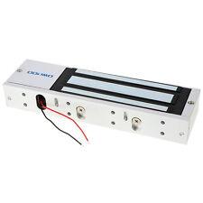 12/24V 600Kg/1200Lbs Electric Magnetic Gate Lock Door Access Latch Light Bracket