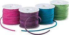 Velour Lederband Rindleder viele Farben Breite: ca. 3mm / Stärke: ca. 2 mm -1900