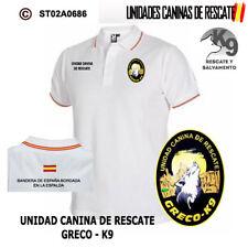 POLOS UNIDADES CANINAS DE RESCATE: UNIDAD CANINA DE RESCATE - GREKO K9