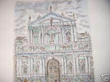 Egidio BONFANTE, incisione, firmata, numerata