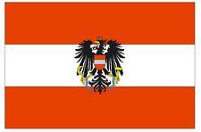 AUSTRIA Flag Sticker MADE IN USA F40 YOU CHOOSE SIZE