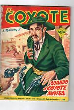 collana del coyote - quando il coyote avvisa  - 1955 -
