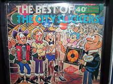 "THE BEST OF THE CITY SLICKERS - AUSTRALIAN LP RECORD VINYL 12"" 33/3"