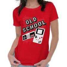 Old School Game Gamer Cool Shirt | Arcade Atari Mario Zelda Womens T Shirt