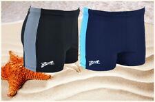 Badehose Badeshorts Boxer Shorts Gr M-3XL Schwarz oder Blau SPM300/K5