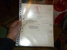 Ancienne Facture 1947 Timbre LE COQ : Sonnette d ancien Velo Logo Grand Bi
