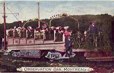 OBSERVATION RAIL CAR MONTREAL QUEBEC CANADA