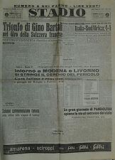 """"""" STADIO Quotidiano Sportivo  N°116  del 16 MAG.1949 """""""