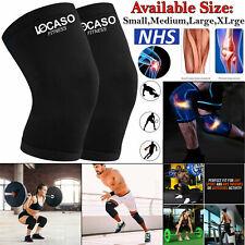 Knee Support Brace Compression Sleeve Arthritis Running Bandage Adjustable Strap