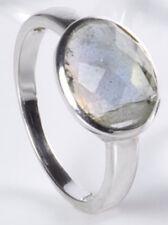 Ring Silberring Labradorit oval Edelstein Schmuck Stein  925er Silber NEU