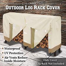 Marvelous Premium Large Size Log Rack Cover Firewood Rack Waterproof Wood Storage  Holder