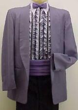 Vintage Miami Vice Royal Purple Boys Tuxedo Jacket or 4pc Tux Retro Many Sizes