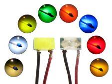 SMD LED 0402 mit Kupferlackdraht Draht Kabel Mini LEDs in verschiedenen Farben