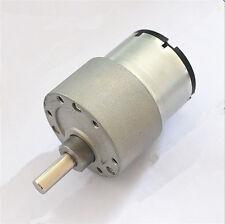 37GB-520 DC 6V 12V 24V 6mm Shaft Dia Electric Gearbox Geared Motor DIY Car Robot