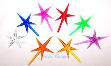Ceramic Craft Plastic Christmas Tree Stars Topper Lot Mod 00006000 ern