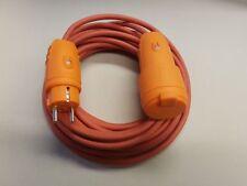 Rallonge de câble sIHF 3x2,5 résistant à la chaleur IP44 à partir de 5m orange