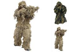 Mil-tec CAMUFLAJE GHILLIE Parka anti Fire ropa camuflada camuflaje Woodland M-XXL