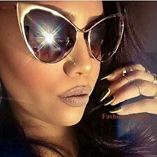 Large Cat Eye BOHO Nastasya Metal Nocturnelle Celebrity Big Sunglasses Glasses L