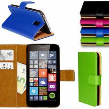 Handy Tasche für Nokia Microsoft Lumia Flip Cover Case Schutz Hülle Etui Schale