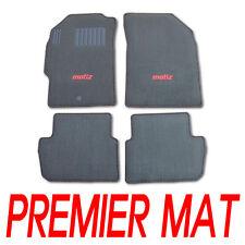 Rubber Floor Premier Mat Black 4P For 10 11 Chevy Holden Spark