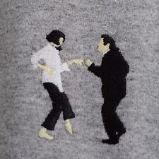 Pulp Fiction danza Tarantino Gris Oscuro Mangas Largas Camiseta realidad Camiseta por