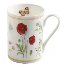 Maxwell & Williams Porzellan Becher,Kaffee,Tasse, Butterfly Garden, Rosa, 300 ml