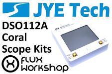 JYE-Tech DSO Coral Digital Handheld Oscilloscope DSO112A DIY Flux Workshop