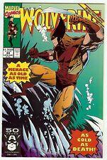 Wolverine #44 (1991, vf+ 8.5) Larry Stroman & Al Milgrom art