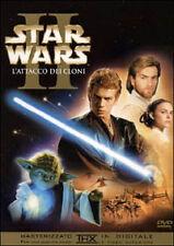 STAR WARS II L'ATTACCO DEI CLONI - 2 DVD NUOVO E SIGILLATO , PRIMA STAMPA RARA