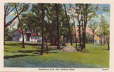 Postcard Hazelwood Park New Bedford MA