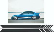 BMW sticker e36 motorsport m3 s50 Evo sticker  vinyl graphic universal stripe
