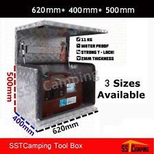 F/P Aluminium Generator Tool box 62 2.5mm Checker Plate Ute Toolbox Trailer