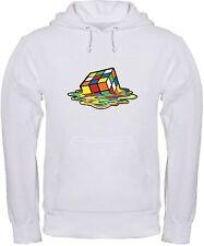 FELPA CUBO RUBIK sciolto fuso melt Sheldon sweatshirt, games, hoodie rubick BIA