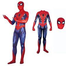 Simil Spiderman Ritorno Costume Carnevale Uomo Vestito Cosplay Zentai SPM009