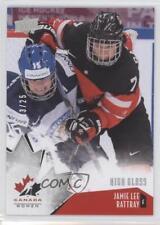 2015 Upper Deck Team Canada Juniors High Gloss #60 Jamie Lee Rattray Hockey Card