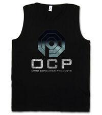 OMNICORP LOGO I TANK TOP GYM T-SHIRT SHIRT Robo Cop Omni Products Police Robocop