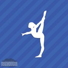 Gymnast Vinyl Decal Sticker