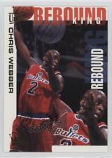 1994 Fleer Ultra Rebound King #9 Chris Webber Washington Bullets Basketball Card