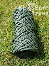 Flexible Tie Plant Tying Tube 3mm thick x 90m long Green Flexi Stretchy String