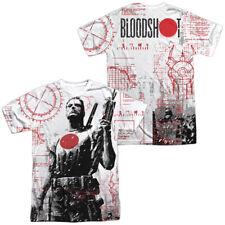 Authentic Valiant Comics Bloodshot Tactical Sublimation ALL Front Back T-shirt