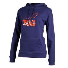 Realtree Girl Ladies Blue Orange Camo Hoodie - Hooded Sweatshirt