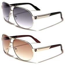 Nuevas gafas de sol negras Diseñador Para Hombre Damas Niños L grandes Aviador Retro Uv400 Grande