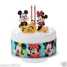 Essbar Mickey Maus Minnie Disney Tortenaufleger NEU backen Party-Deko Tortenband