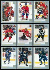 2000-01 O PEE CHEE NHL ROOKIE HOCKEY CARD 260 TO 330 SEE LIST
