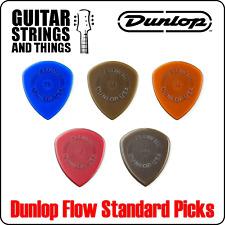Jim Dunlop Flow Standard Grip Plectrums - Bags of 6 Picks