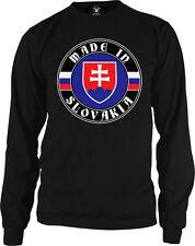 Made In Slovakia Slovak Republic Slovenská Republika Long Sleeve Thermal