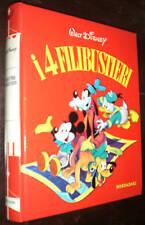 WALT DISNEY COLLANA CAROSELLO 1967 MONDADORI I 4 FILIBUSTIERI 3A EDIZIONE BELLO